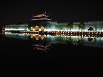苏州平门夜景