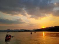 西湖·夕阳