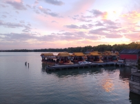 深秋的夕阳-昆明湖