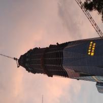 成都绿地468超高层建筑