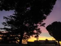 美国下午的Sunset