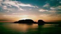 威海小石岛霞光