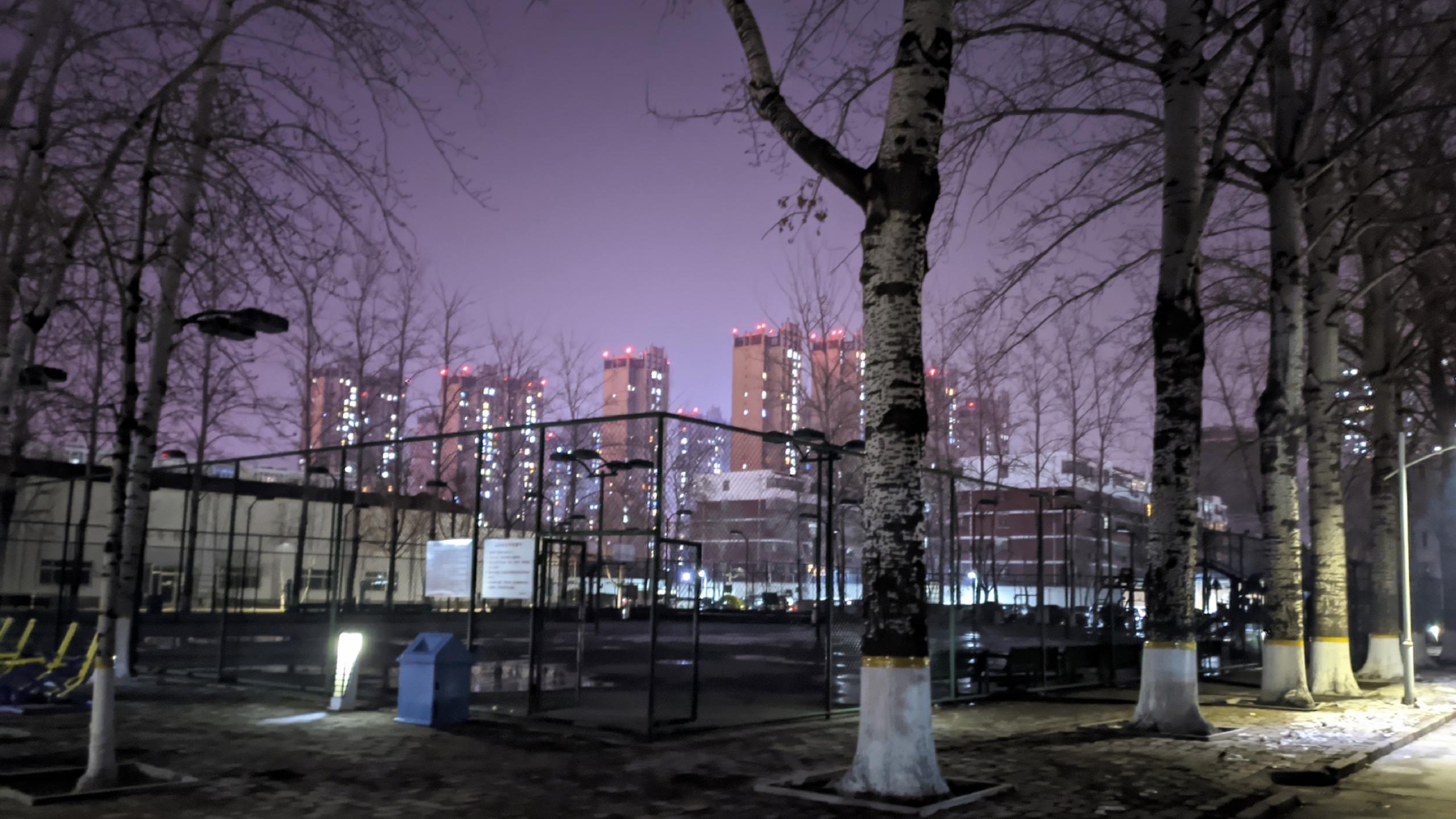 谷歌相机拍的夜景