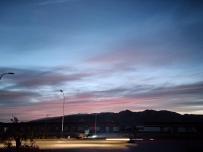 新疆的晚霞